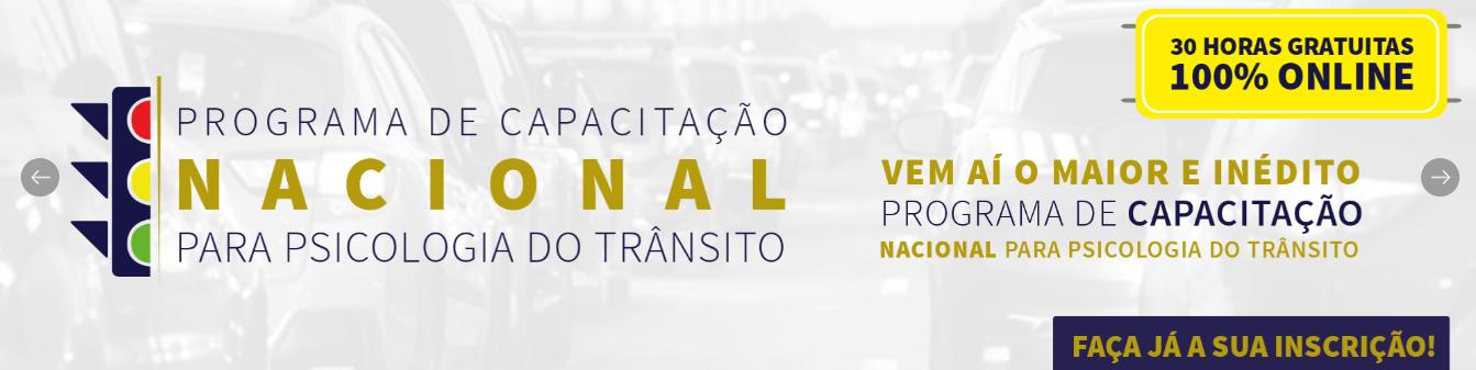 Programa nacional de transito para Psicologos 22/08/2021