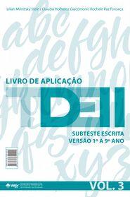 TDE II - Livro de Aplicação Subteste Escrita 1º ao 9º ano