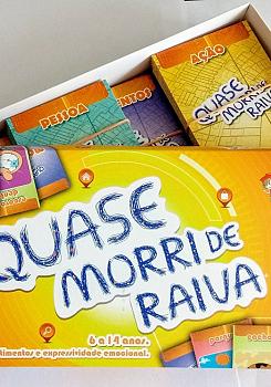QUASE MORRI DE RAIVA - EDI��O AMPLIADA