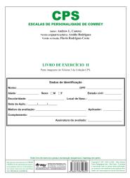 CPS Livro de Exercício II - Descartável