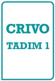 Tadim 1 Crivo de Correção - BFM-1
