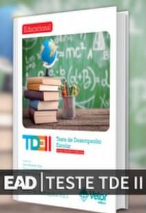 curso EAD - TDE II, Teste do Desempenho Escolar (curso online)