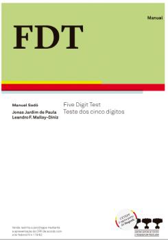 FDT- Five Digit Test - Bloco com 25 folhas de resposta