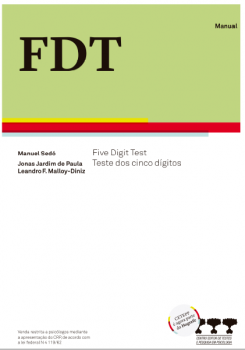 FDT- Five Digit Test - Caderno de aplicação / Estimulo